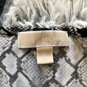 Michael Kors Tops - Michael Kors Size Large Python Pattern Shirt